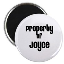 Property of Joyce Magnet