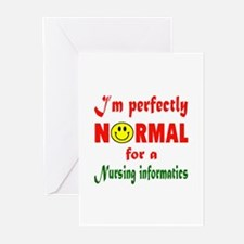 I'm perfectly normal for Greeting Cards (Pk of 10)