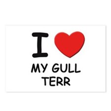 I love MY GULL TERR Postcards (Package of 8)