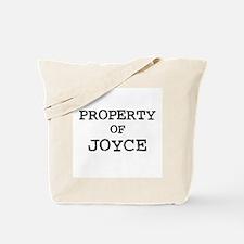 Property of Joyce Tote Bag