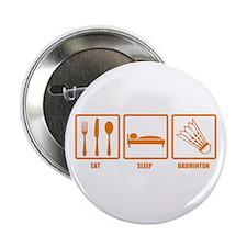 "Eat Sleep Badminton 2.25"" Button (10 pack)"