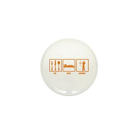 Eat Sleep Archery Mini Button (10 pack)