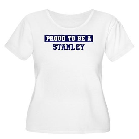 Proud to be Stanley Women's Plus Size Scoop Neck T