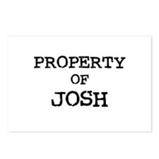Property of Josh Postcards (Package of 8)