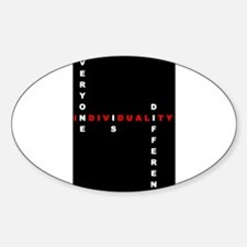 Stationery - Stylz Individual Oval Decal