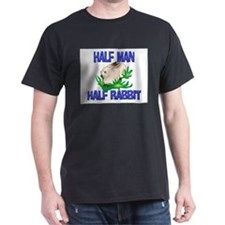Half Man Half Rabbit T-Shirt