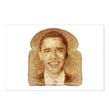 Obama on Toast Postcards (Package of 8)