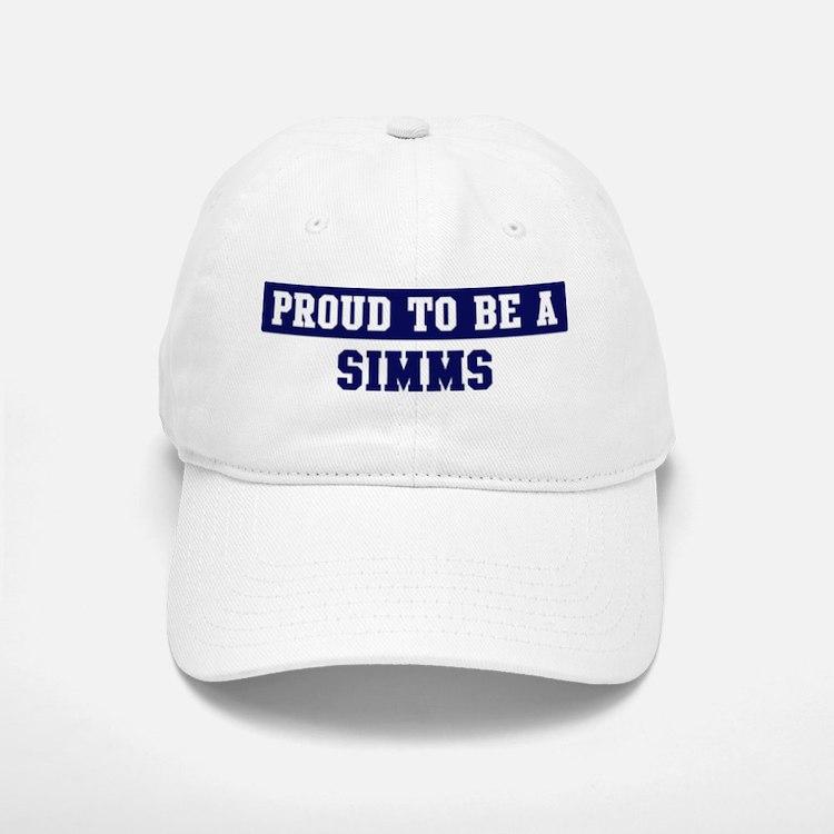 simms baseball hat proud to be cap