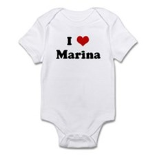 I Love Marina Infant Bodysuit