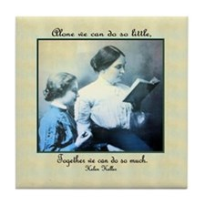 Helen Keller Tile Coaster