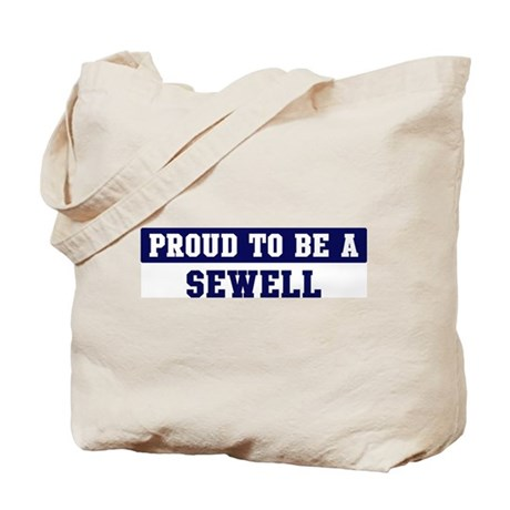 Proud to be Sewell Tote Bag