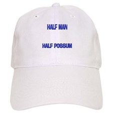 Half Man Half Possum Baseball Cap