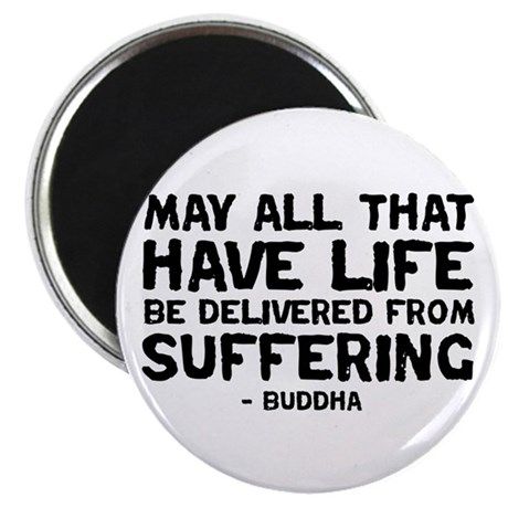 Quote - Buddha - Delivered fr Magnet