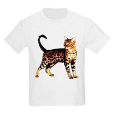Bengal Cat: Raja Kids T-Shirt