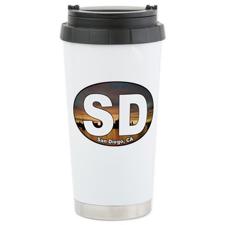 San Diego Stainless Steel Travel Mug