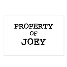 Property of Joey Postcards (Package of 8)