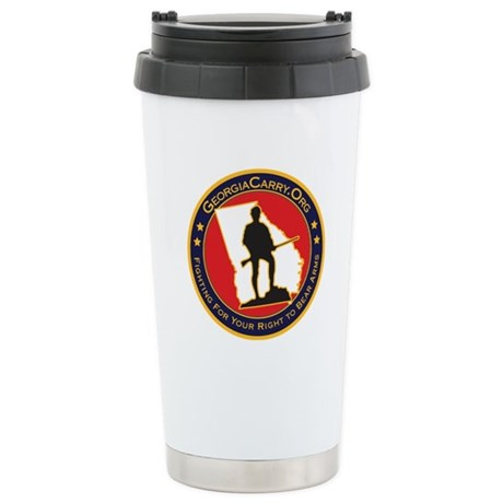 Georgia Carry Stainless Steel Travel Mug
