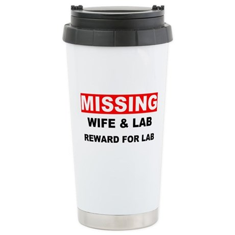Missing Wife Lab Stainless Steel Travel Mug