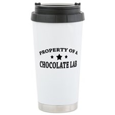 Property of Chocolate Lab Travel Mug