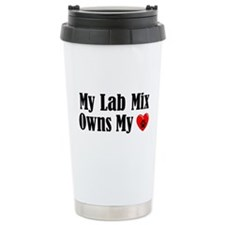 Heart Owning Lab Mix Travel Mug