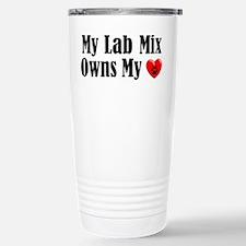 Heart Owning Lab Mix Travel Mug