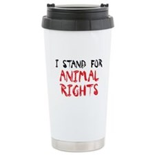 Animal Rights Travel Mug