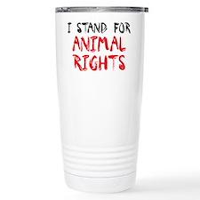 Animal Rights Travel Coffee Mug