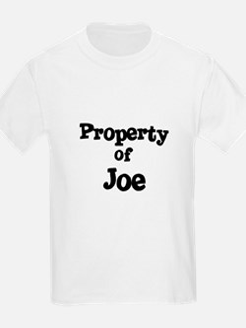 Property of Joe Kids T-Shirt