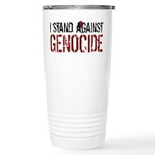 I Stand Against Genocide Travel Mug