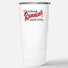 Life without running Travel Mug