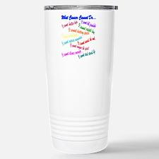 Cancer cannot Travel Mug