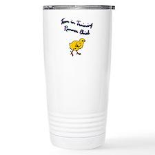 Team runner chick Travel Mug