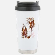 Happy Fall faries Stainless Steel Travel Mug