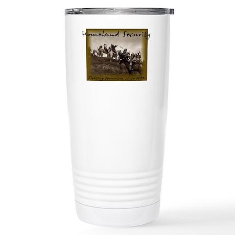 Homeland Security Stainless Steel Travel Mug