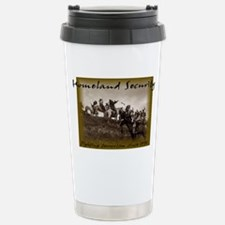 Homeland Security Stainless Steel Travel Mug