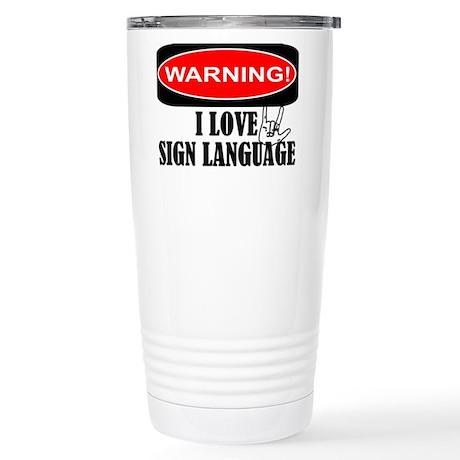 I love ASL Stainless Steel Travel Mug