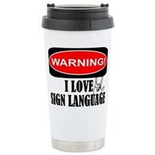 I love ASL Travel Mug