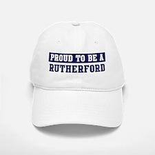 Proud to be Rutherford Baseball Baseball Cap