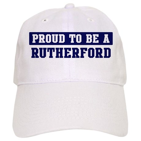 Proud to be Rutherford Cap