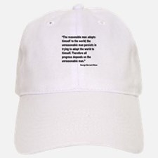 Shaw Progress Quote Baseball Baseball Cap