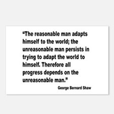 Shaw Progress Quote Postcards (Package of 8)
