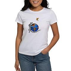 Gecko and Butterfly Women's T-Shirt
