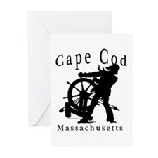 Cape Cod Sea Captain Greeting Cards (Pk of 10)