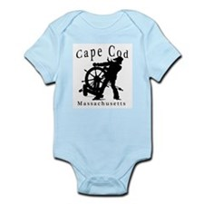 Cape Cod Sea Captain Infant Creeper