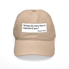 Patton Do More Quote Baseball Cap