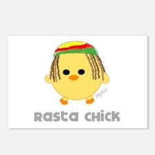 Rasta Chick Postcards (Package of 8)