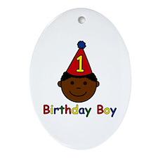 Birthday Boy Keepsake (Oval)