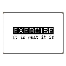 Exercise Is Banner