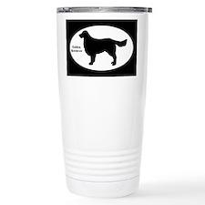 Golden Retriever Silhouette Travel Mug