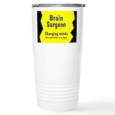 Brain Surgeon Ceramic Travel Mug